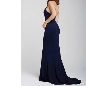 Jovani Fitted Sexy High Slit Dress Size 0